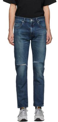 Neighborhood Indigo Washed C-PT Skinny Jeans