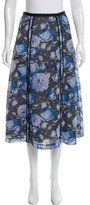 Sachin + Babi Noir Printed Midi Skirt