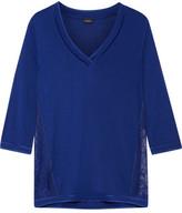 La Perla Myrta Lace-Paneled Modal-Blend Pajama Top