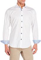Jared Lang Geometric Weave Shirt