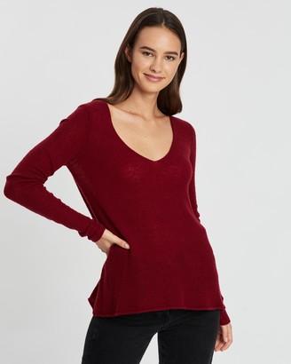 American Vintage V-Neck Pullover