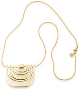 Trina Turk Metal Multi U Pendant Necklace