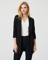 Le Château Ponte Knit Notch Collar Blazer