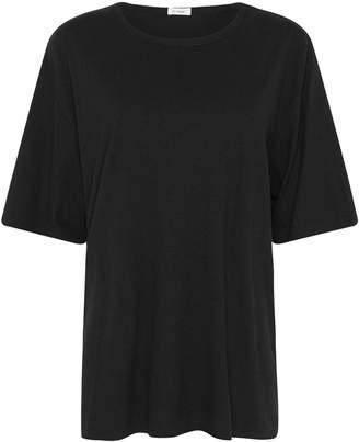 ST. AGNI Masaki Oversized Hemp Organic Cotton T-Shirt