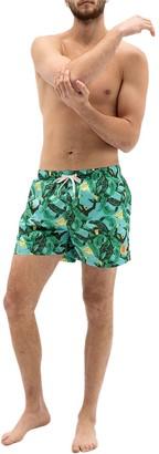 Ambsn Nanner Jungle Board Shorts