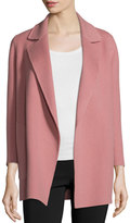 Theory Clairene New Divide Open-Front Coat