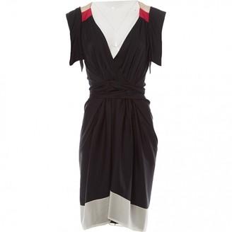 Vionnet \N Black Silk Dresses