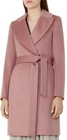 Reiss Forbes Belted Wool Coat