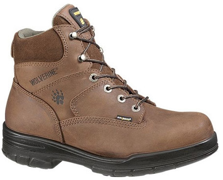 "Wolverine Men's Durashocks Slip Resistant 6"" Steel Boot"
