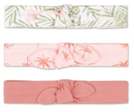 The Peanut Shell The Baby Girl Tropical Girl Headband, Pack of 3