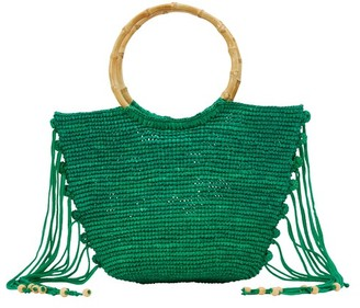 Sensi Bamboo handle handbag