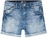 Levi's Girls 7-16 Scarlet Cutoff Cuffed Shortie Shorts