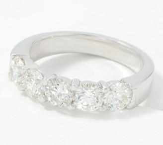 Fire Light Lab Grown Diamond 14K Gold 5-Stone Ring, 2.00cttw