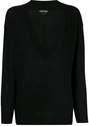 Tom Ford deep v-neck jumper