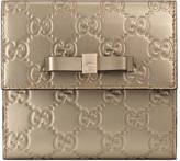 Gucci Bow Signature wallet