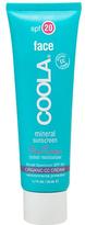 Coola Mineral Sunscreen Face SPF20 Rose Essence Tinted Moisturiser