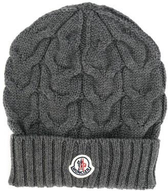 Moncler Enfant Cable Knit Hat