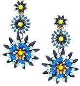 Banana Republic Elizabeth Cole | Limited Edition Blue Floral Earring