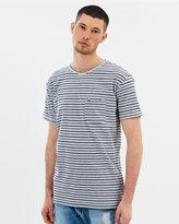 Tommy Hilfiger Stripe Crew Neck T-Shirt