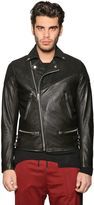 Diesel Suede & Leather Biker Jacket