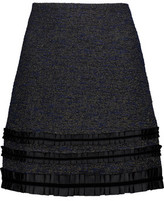 Raoul Metallic Tweed Mini Skirt