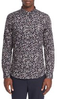 Paul Smith Dot Print Long Sleeve Shirt