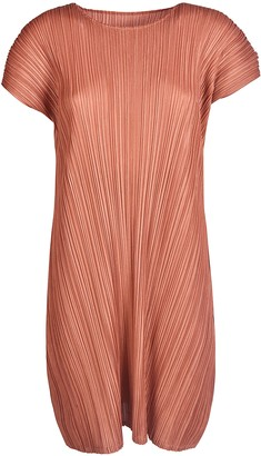 Pleats Please Issey Miyake Pleated Short Dress