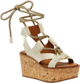 Frye Dahlia Rope Wedge Sandal