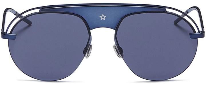 Christian Dior 'Dio(r)evolution' acetate top bar metal aviator sunglasses