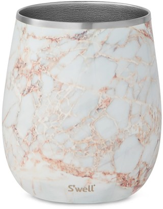 Swell S'well Calacatta Gold 9-Ounce Insulated Wine Tumbler