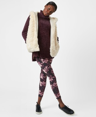 Sweaty Betty Faux Fur Vest