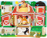 Melissa & Doug Kids Toy, Magnetic Farm Hide & Seek Board