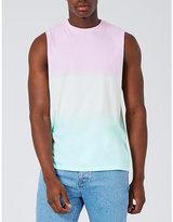 Topman Topman Rainbow Oversized Cotton-jersey Vest Top