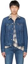 Acne Studios Blue Denim Pass Jacket