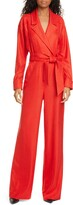 Veronica Beard Lionel Wide Leg Jumpsuit
