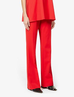 Victoria Victoria Beckham Victoria straight-leg high-rise woven trousers