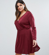 Pink Clove Plus Wrap Dress