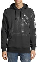 PRPS Hoodie With Silver Paint And