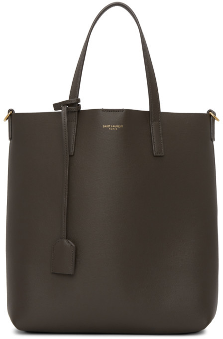 Saint Laurent Grey Toy Shopping Tote
