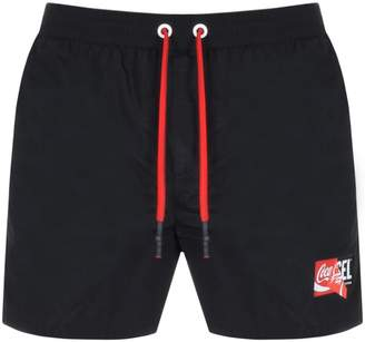 Diesel X Coca Cola ReCollection Swim Shorts Black