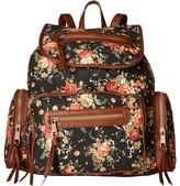 Gabriella Rocha Vivi Floral Print Zipper Backpack