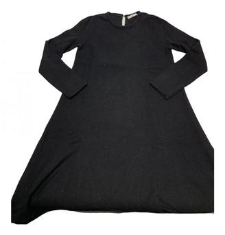 Stefanel Black Wool Dresses
