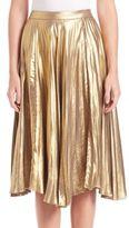 A.L.C. Gates Pleated Midi Skirt