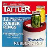 TATTLER HOME PRODUCTS 1021 12 Piece Wide Jar Rubb Ring