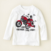 Children's Place Like father son graphic tee