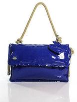 Jamin Puech Blue Small Rope Handle Satchel Handbag New