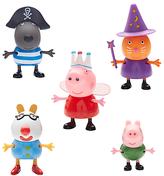 Peppa Pig Fancy Dress 5 Figure Pack