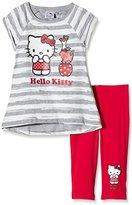 Hello Kitty Girl's Apple Short Sleeve Crew Neck Clothing Set