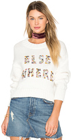 Wildfox Couture Elsewhere Sweater in Ivory