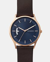 Skagen Holst Brown Analogue Watch